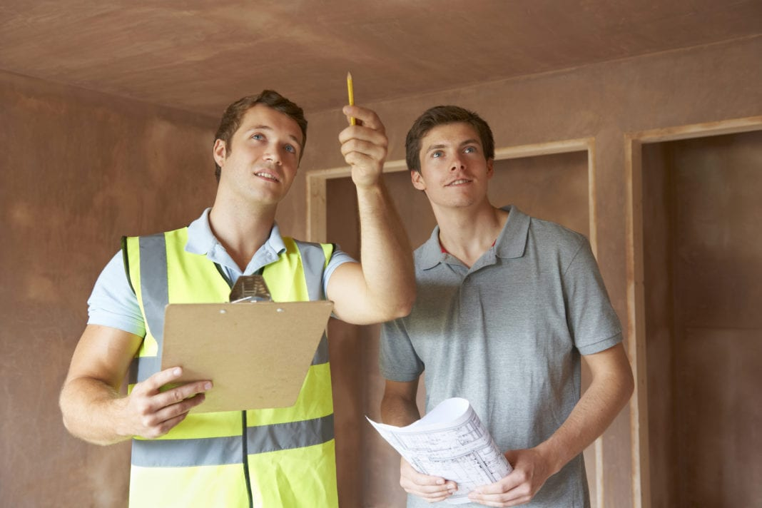 Home Inspection With Home Inspector